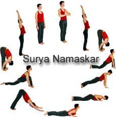 Kalyanamalai Matrimonial Magazine- Health Tips - Suryanamaskar for stable health, yoga